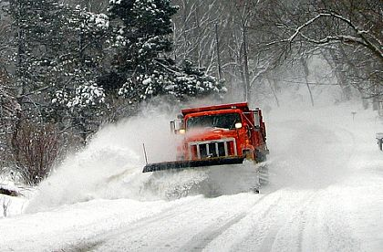 Springfield Township snow plow